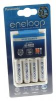 ENELOOP BASIC CHARGER, LADER INCL. 4 ST. AA 1900MAH ACCU S